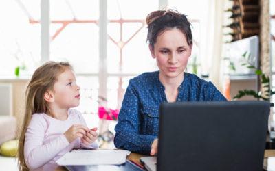 Teletrabajo: cómo organizarse con niños
